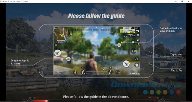 Giới thiệu cách chơi game Rules of Survival