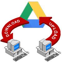 Cách up dữ liệu, tạo link tải trực tiếp từ Google Drive
