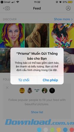 Sử dụng Prisma
