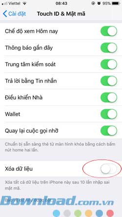 iOS 11 Bảo mật