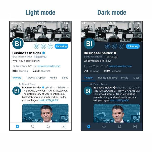 Dark Mode Apps