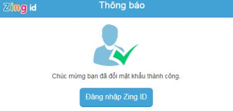 Đăng nhập tài khoản Zing