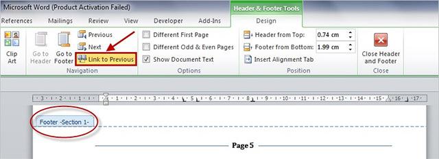 Header & Footer Tools