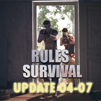 Chi tiết bản cập nhật Rules of Survival ngày 4/7