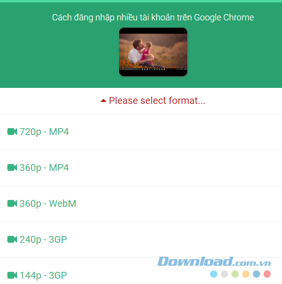 Download phim trên mạng không dùng phần mềm