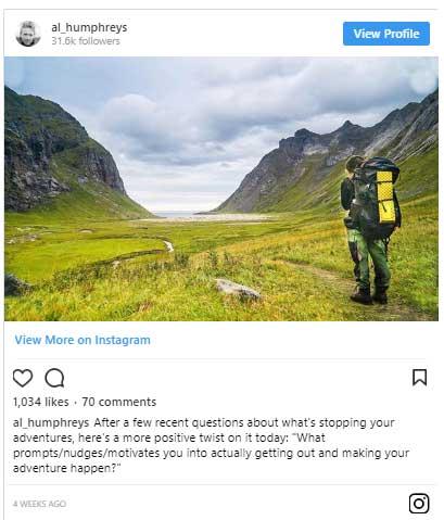 Bài đăng trên Instagram