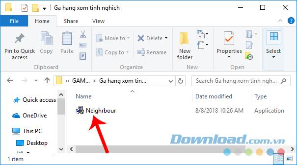 Cài đặt Neighbours From Hell cho máy tính