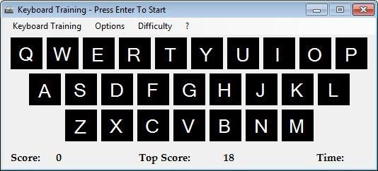 Tập đánh máy tính với phần mềm luyện gõ Keyboard Training