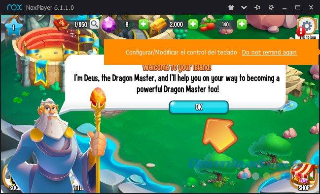 Bắt đầu chơi game Dragon City