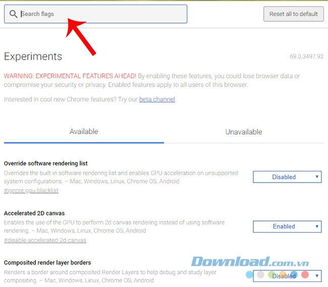 Kích hoạt tính năng tạo mật khẩu ngẫu nhiên trên Chrome