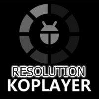 Hướng dẫn chỉnh độ phân giải phù hợp với màn hình trên KOPlayer
