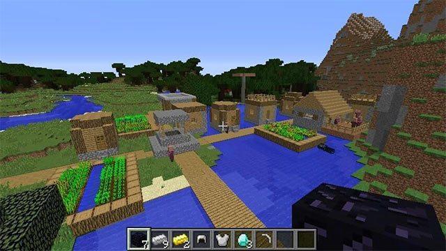 Khu làng ngập nước giàu tài nguyên