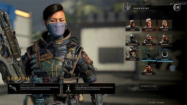 Cách mở khóa nhân vật Seraph trong Call of Duty: Black Ops 4