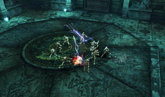 Tiêu diệt mộc nhân trong Blade and Soul