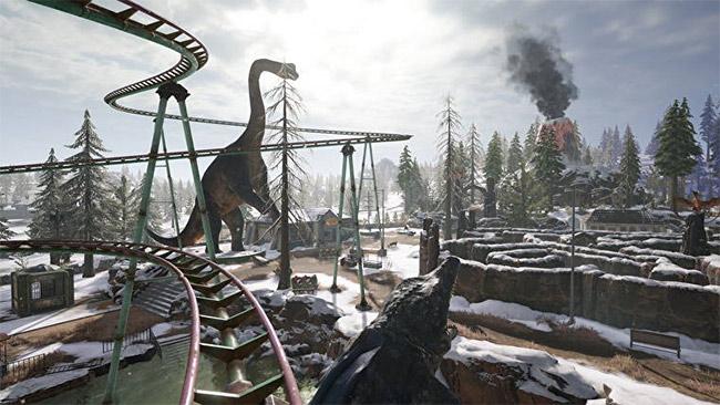 Hình ảnh công viên khủng long