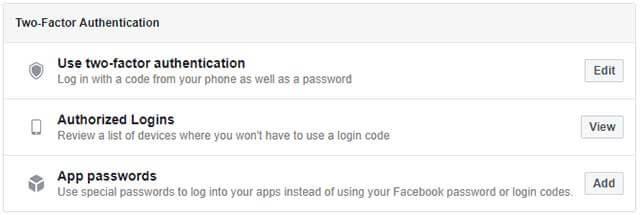 Xác thực 2 yếu tố để bảo vệ tài khoản Facebook tốt hơn