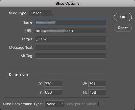 Chọn _blank từ menu Target để mở link trong cửa sổ mới