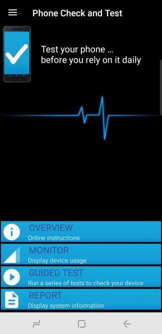 Kiểm tra điện thoại bằng Phone Check