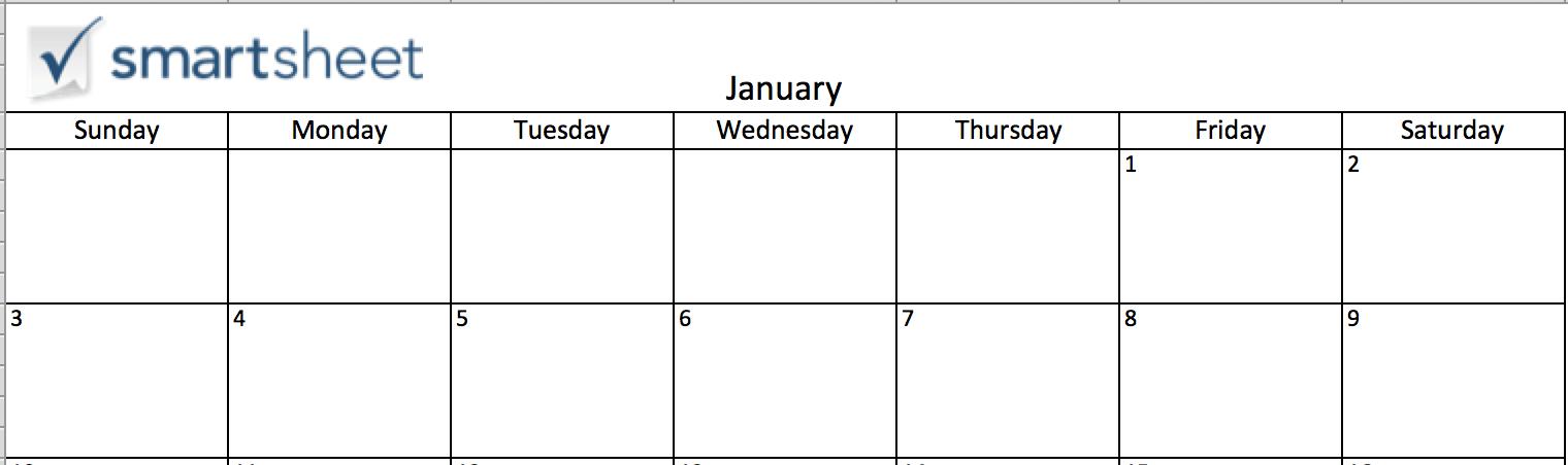 Thêm ảnh vào bảng lịch trong Excel