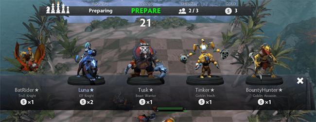 Cách xây dựng đội hình chơi Dota Auto Chess
