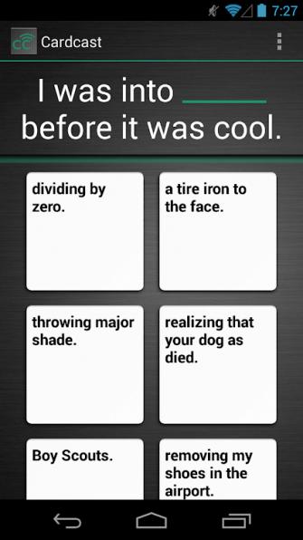 Chơi Cardcast game