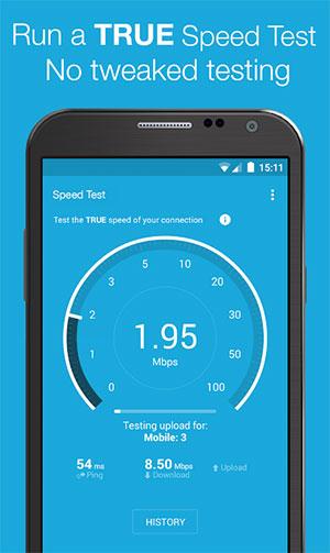 Kiểm tra tốc độ mạng