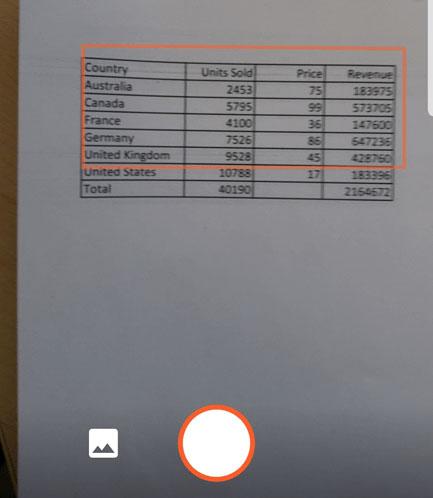 Chụp hình ảnh chèn trên Excel