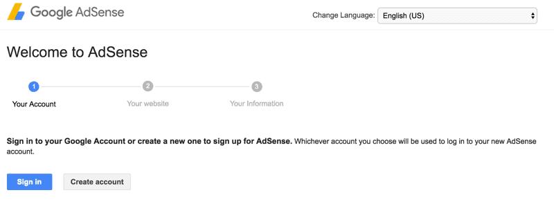Tạo tài khoản Gmail đăng ký AdSene