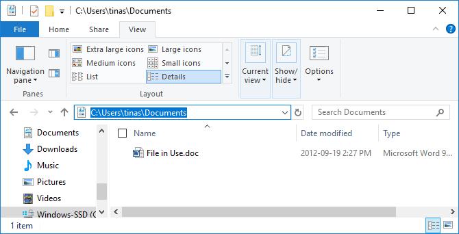Danh mục file