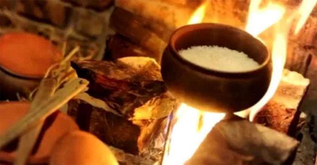 Hình ảnh bếp lửa - Mẫu 3