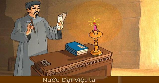 Phân tích bài thơ Nước Đại Việt ta