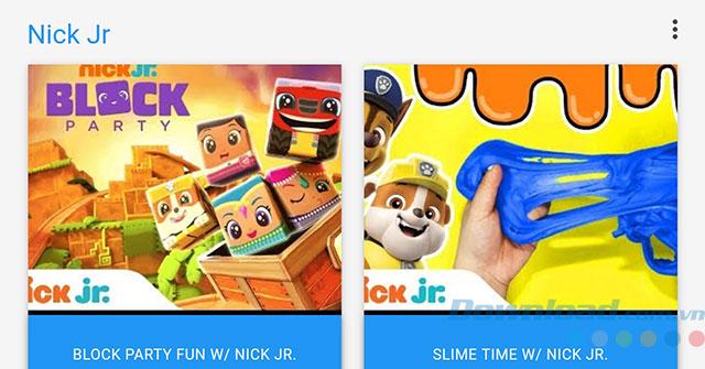Ứng dụng Nick Jr