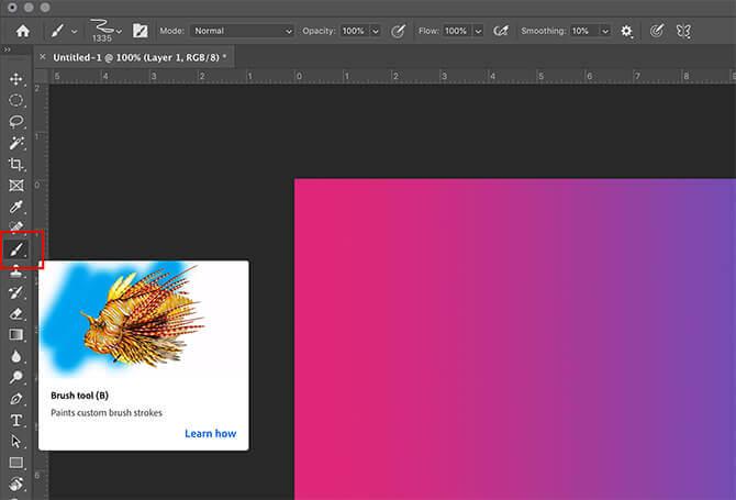 Công cụ Brush trong Photoshop