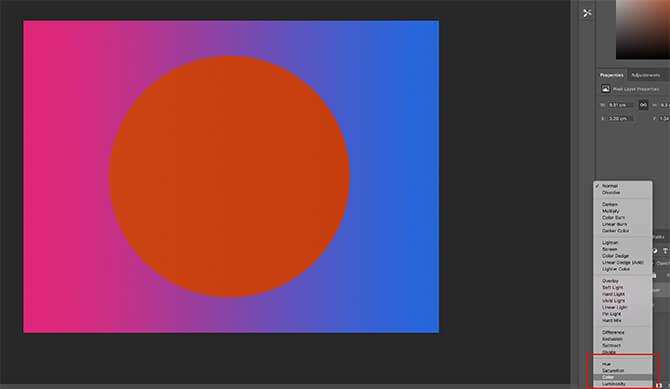 Chế độ hòa trộn màu trong Photoshop
