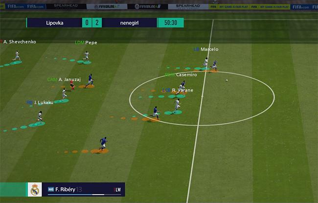 Hướng dẫn chơi FIFA Online 4 bằng phím