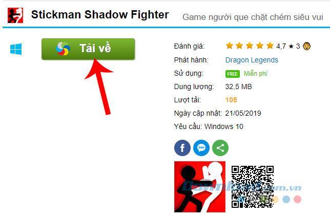 Tải Stickman Shadow Fighter về máy tính
