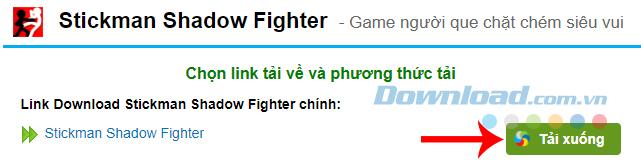 Cài đặt Stickman Shadow Fighter trên máy tính
