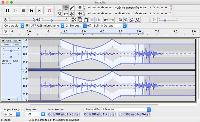 Phần mềm chỉnh sửa âm thanh Audacity