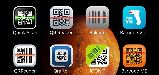Top ứng dụng quét mã vạch trên iOS