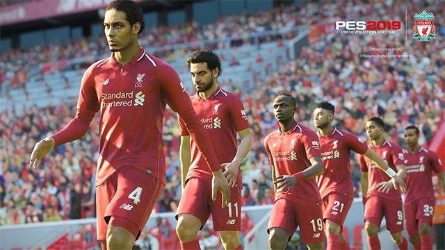 Đội hình Liverpool trong game bóng đá PES