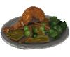 Món ăn gà tây trong Nhà trọ