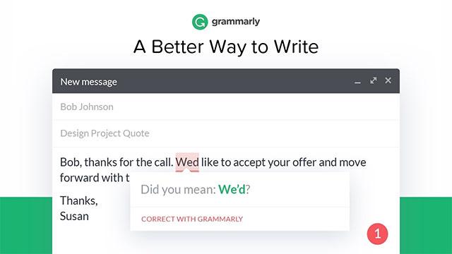 Kiểm tra lỗi chính tả trên Chrome với Grammarly
