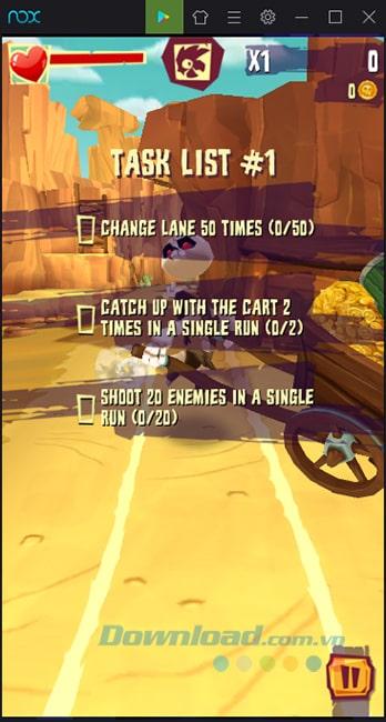 Điều kiện của bài chơi Run & Gun: Banditos