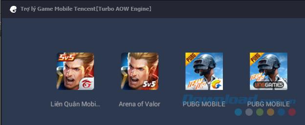 Tuỳ chọn chơi PUBG Mobile với các phiên bản khác nhau