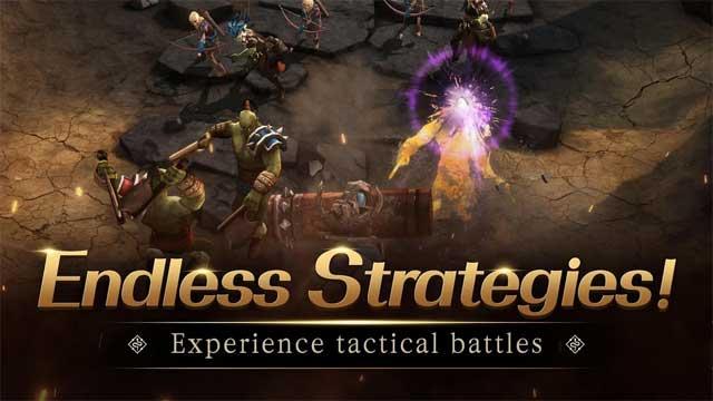 Thưởng thức những trận đấu mang đậm tính chiến thuật trong game First Summoner for Android