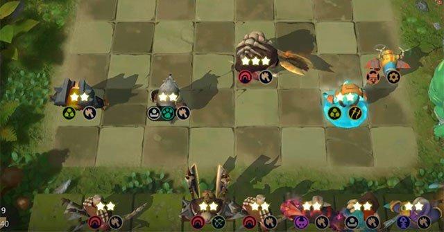 Cách xếp đội hình cơ bản trong Auto Chess Mobile