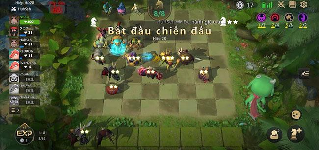 Đội hình chơi Auto Chess Mobile cho người mới