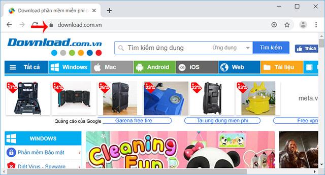 Thanh địa chỉ Chrome mới