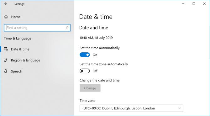 Kiểm tra ngày & thời gian trên máy tính