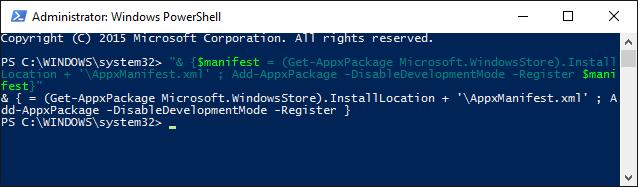Chạy Windows PowerShell